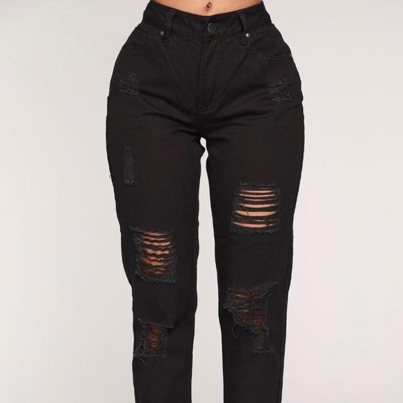 83df76ee27b Fashion nova jeans boyfriend black poshmark jpg 580x580 Size chart for fashion  nova jeans